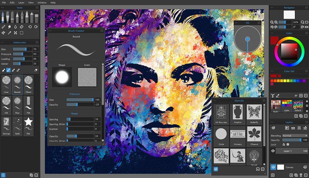 نرم افزار ویژه نقاشی دیجیتال